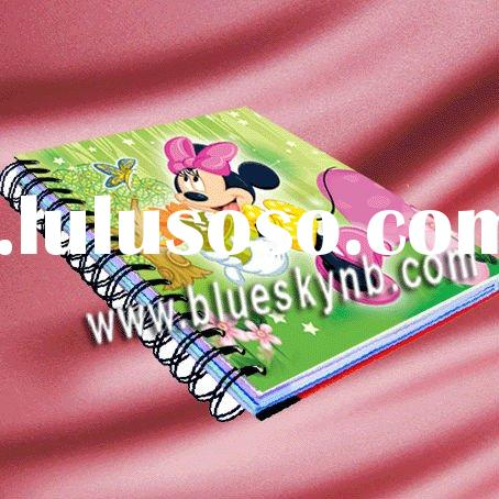 PVC Printed Notebook   (BLY5 - 5002 3D)