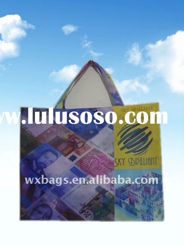 Promotional nonwoven shopping bags available in various designs