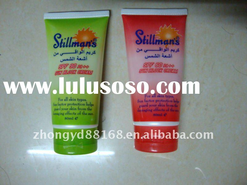 SPF60 Sunblock with 80ml tube