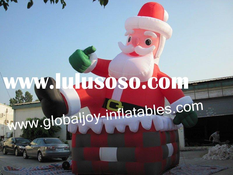 TOP-SELLING  inflatable Christmas Santa Claus decorations