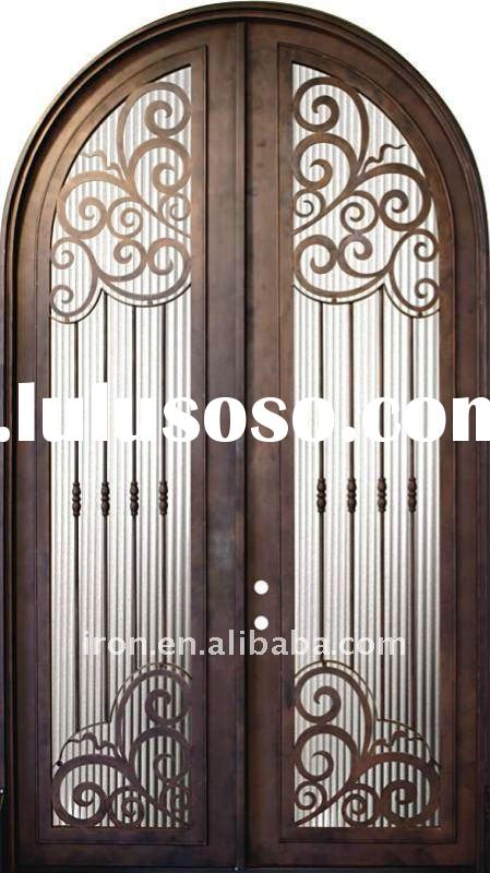 barcelona round top exterior steel doors