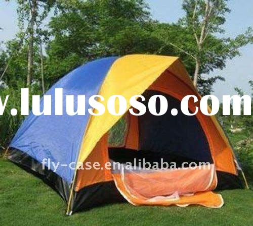 camping tent outdoor tent traveling tent waterproof 190T polyester tent