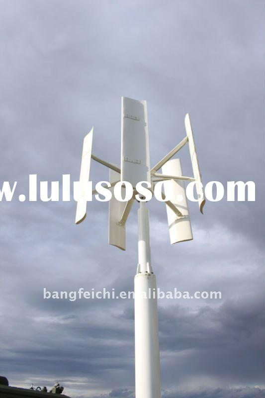 1KW wind turbine, low start-up wind speed