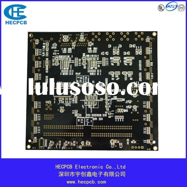 6 layers black PCB