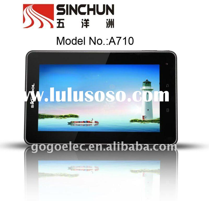 7inch 5-point touch capacitive screen tablet PC