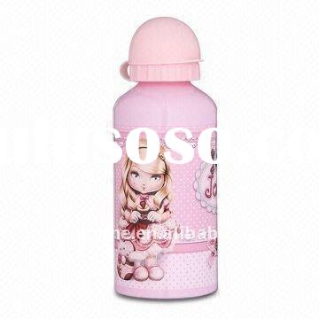 BPA-free Aluminum Water Bottle for Children with 400mL Capacity