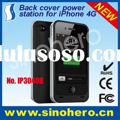Back cover battery for iPhone 4--1600mAh built in battery