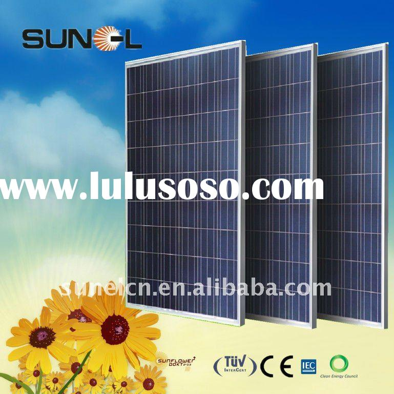 Hot selling-230W Poly crystalline solar panel, PV module, for solar power plant with TUV, IEC, CE, C