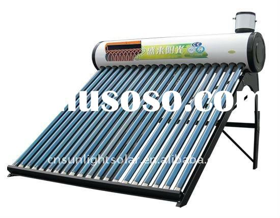 Pressurized Pre-heat Solar Water Heater with copper coil