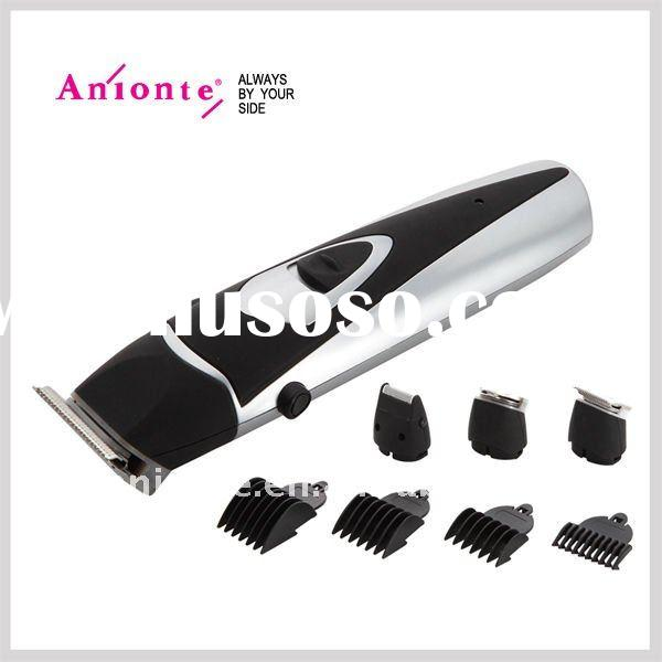 Rechargeable 4 in 1 clipper set with hair clipper,hair trimmer,shaver and contour trimmer