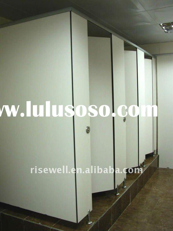 compact laminate toilet partition;formica toilet partition;hpl toilet partition