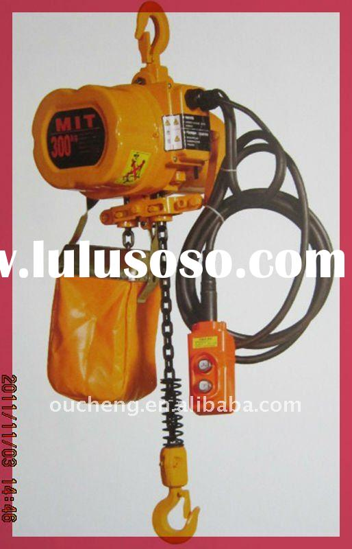 widely electric chain hoist