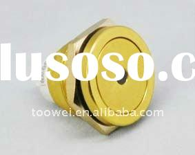 19MM Chromatic metal push button switch