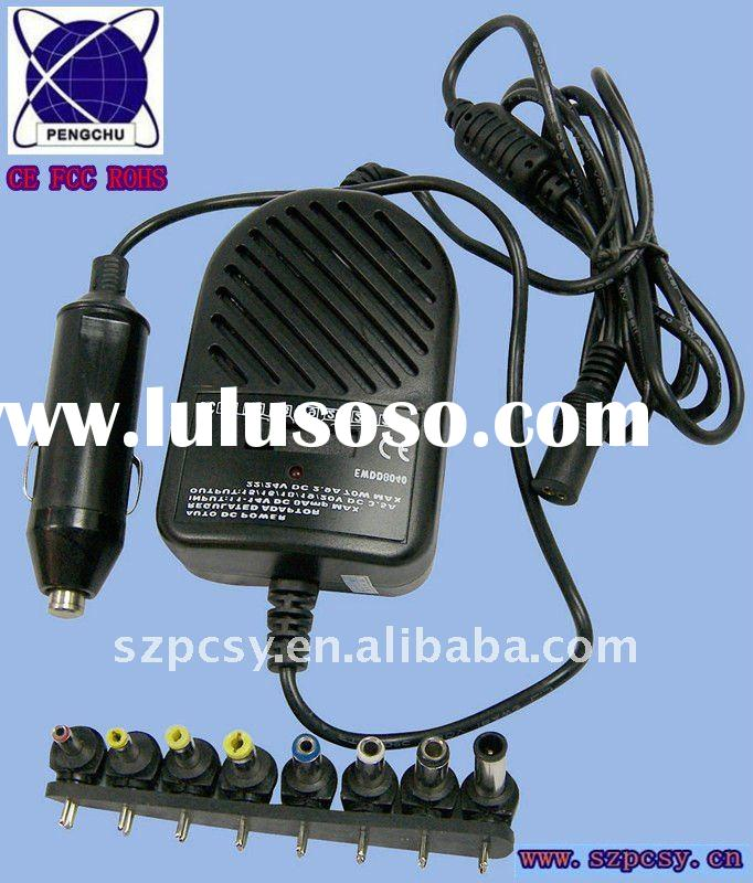 80W universal DC car charger