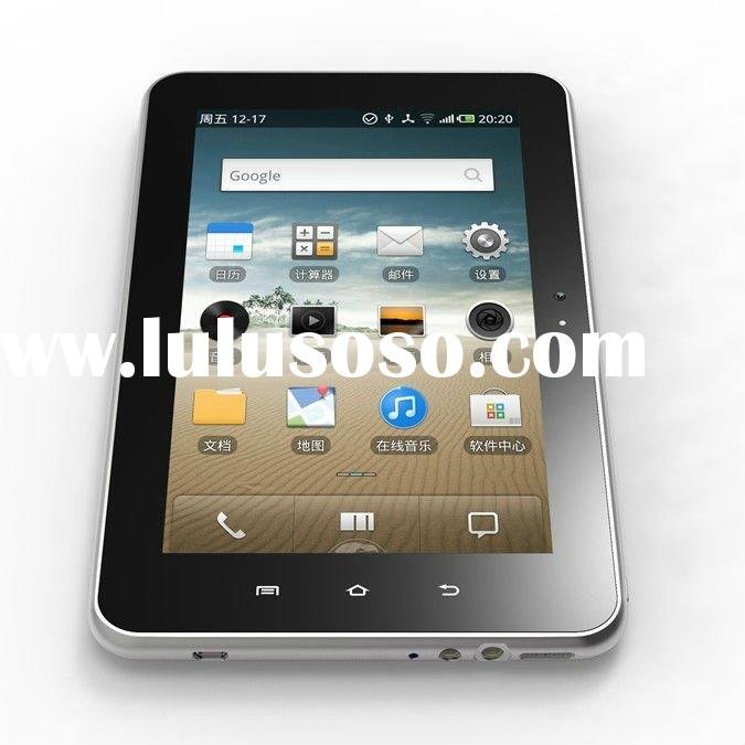 Chipset Qualcomm 7227T with internal 3G(WCDMA)+bluetooth+wifi+gps navigation+support phone calling