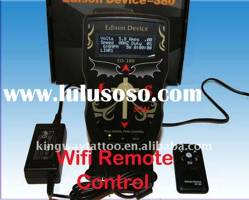 FULL Digital Control LCD Tattoo Power Supply EDISON DEVICE-380