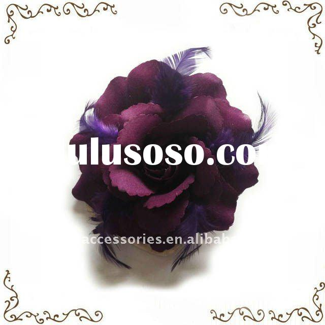 Hot Selling Feather Hair Flower