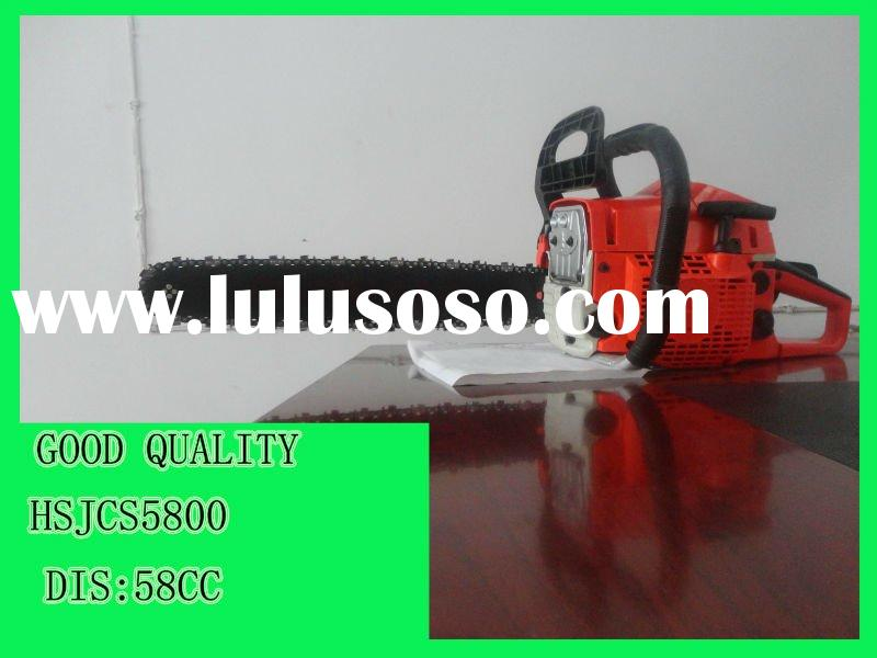 ce approved 58cc gasoline chainsaw