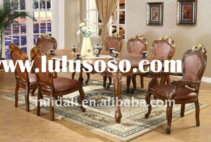 high standard wooden dining table furniture