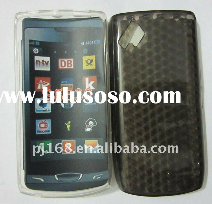 manufacturer selling mobile phone covers for  sam Wave II S8530 Clear case