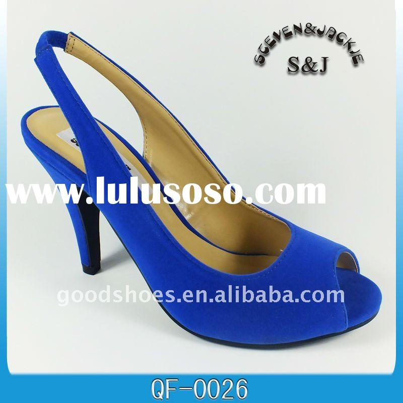 royal blue ladies sandals