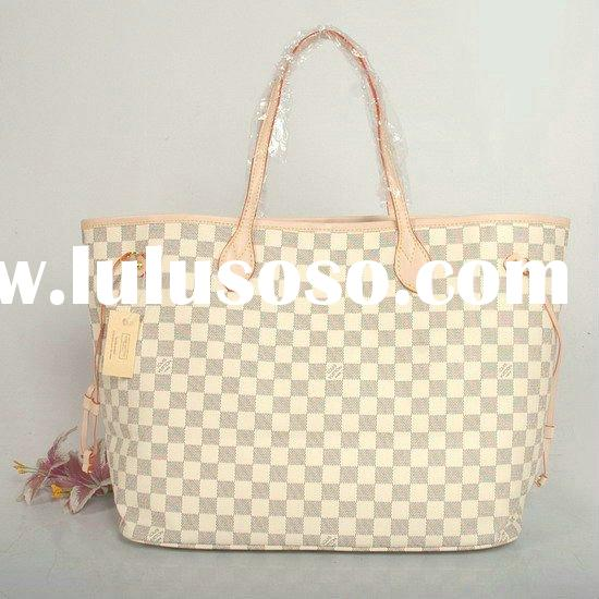 Fashion PU leather ladies handbags brand name designer bags