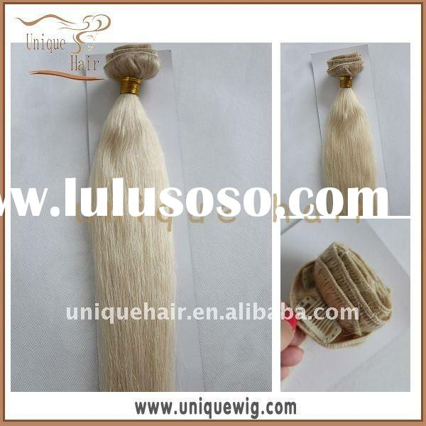 Indian remy 120g clip in hair extension