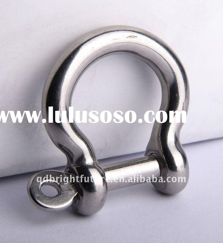 Stainless Steel semi anchor pin anchor shackles