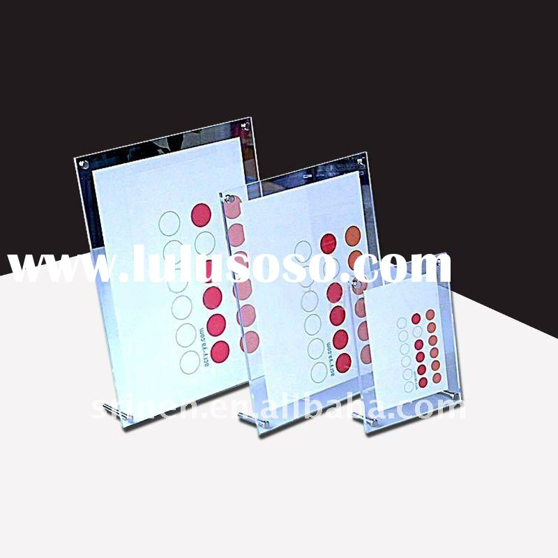 Acrylic Photo Frame, PMMA Photo Frame, Plexiglass Photo Frame
