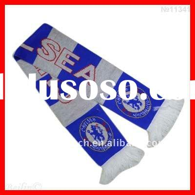 Chelsea football team club football fans scarf