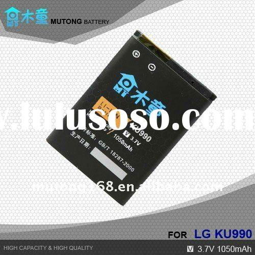 Durable High Capacity China Mobile Phone Battery For LG KU990