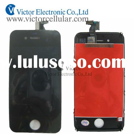 New arrival of Iphone 4S lcd screen display with digitizer touch lens assembly