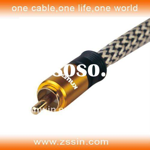 Pro gold- High End Golden RCA cable for DVD player,TV Set