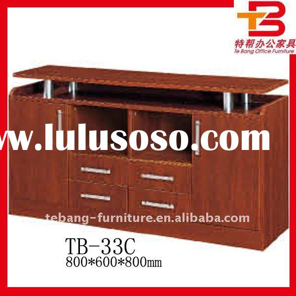 Red Cherry Wooden Filling Cabinet TB-33C