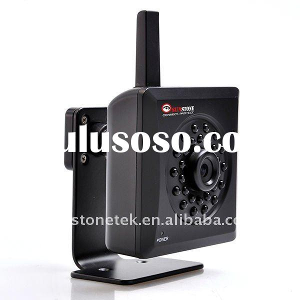 Sunstone IP-109W Indoor real-time IP Camera monitoring system with Wifi, night vision, SD Card recor