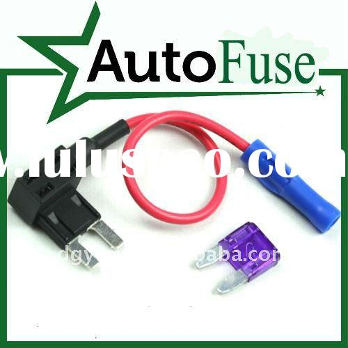 Waterproof 30A Amp In-line Mini Blade Type Fuse Holder