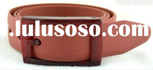 fashion women and man candy silicone  rubber belt