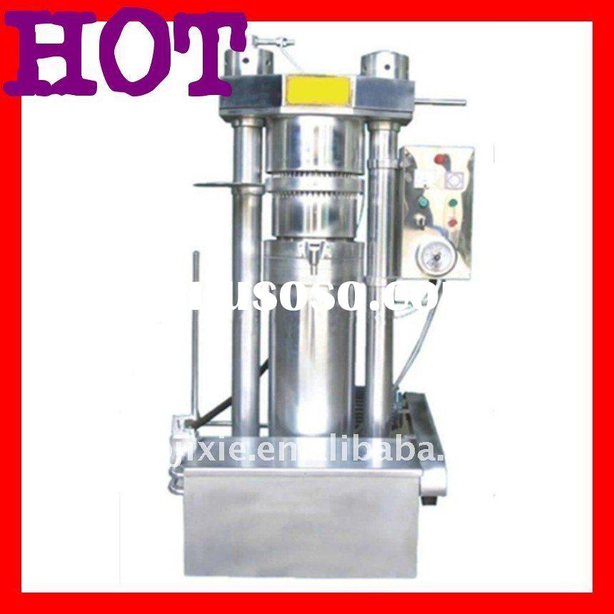 hydraulic type sesame oil press  facotory supplier