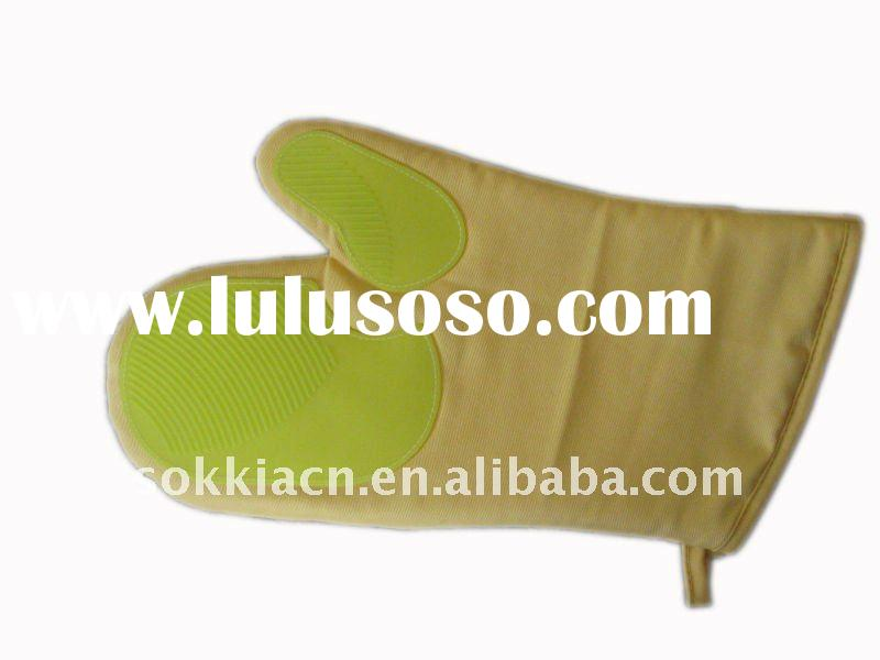 silicone glove, silicone oven glove,promotional,kitchen set
