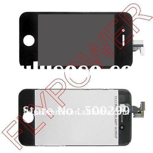100% orignal lcd screen with touch digitizer assembly for iphone 4S
