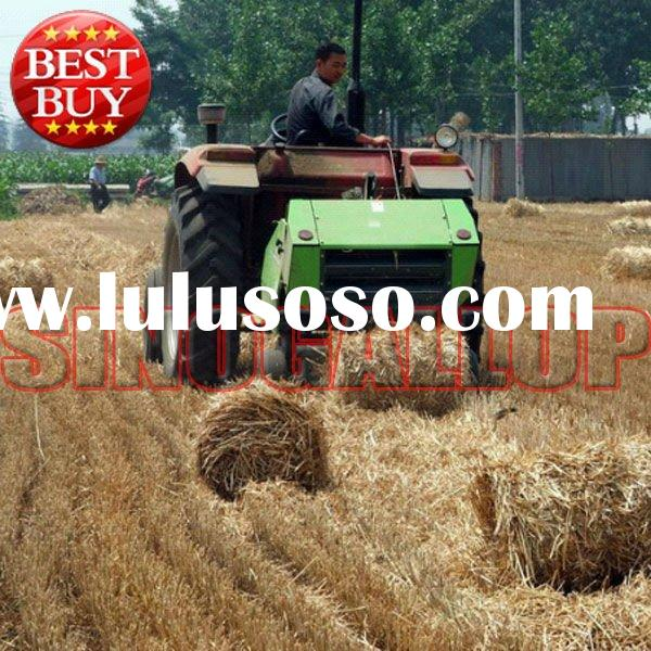 2012 best sales round straw baler,hay baler with good price