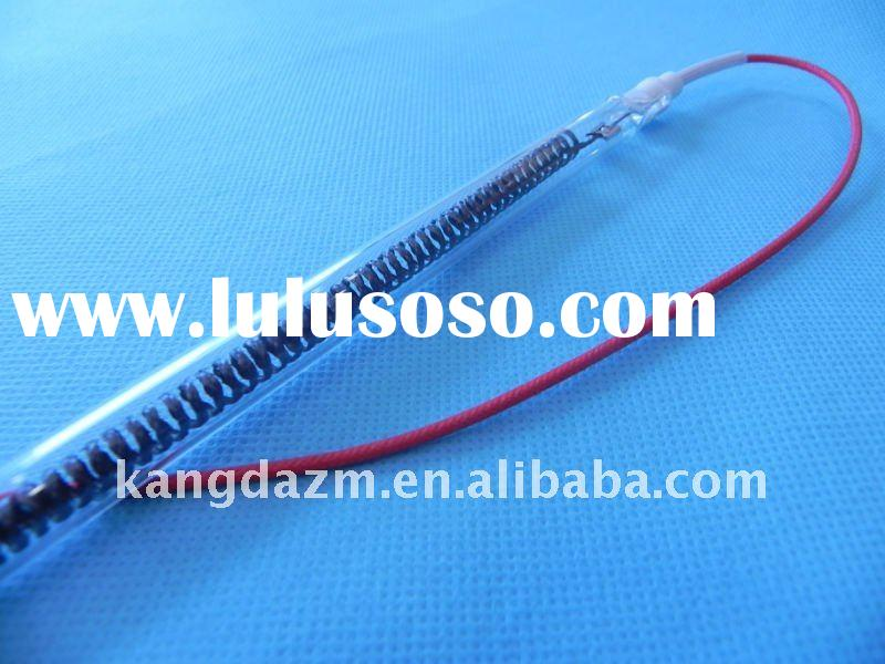 Carbon fiber heating element / lamp with CE