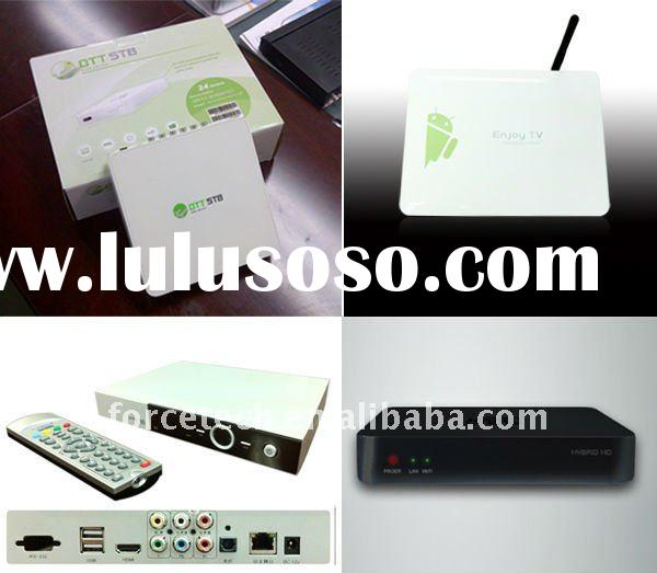 Google Android 2.3 wifi iptv set top box with hdmi