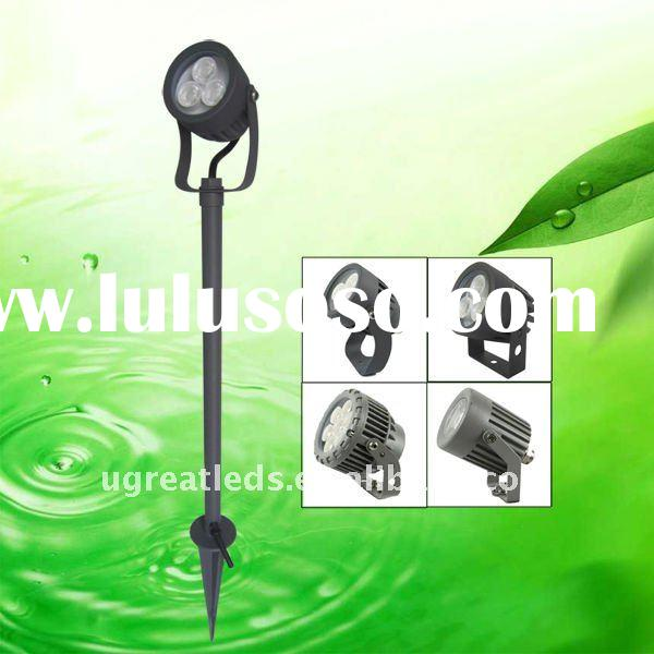 New technology outdoor IP66 led garden light with pole