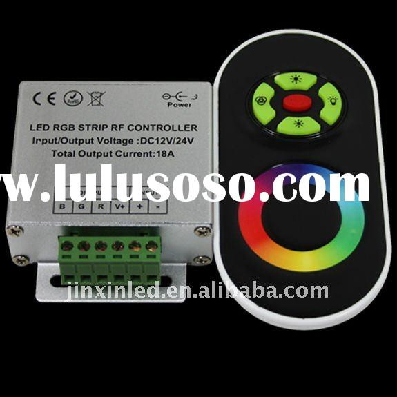 RF Wireless Touching LED RGB Controller