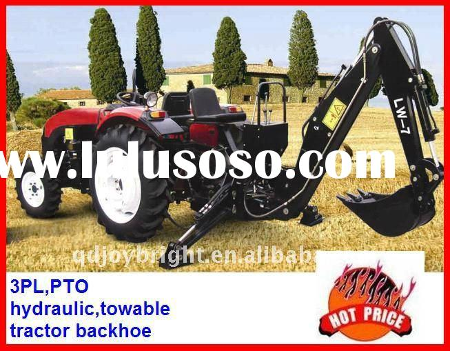 TRACTOR BACKHOE,PTO,3PL,SELF-POWER,TOWABLE,Hydraulic transmission,independent Gear pump,3Points link