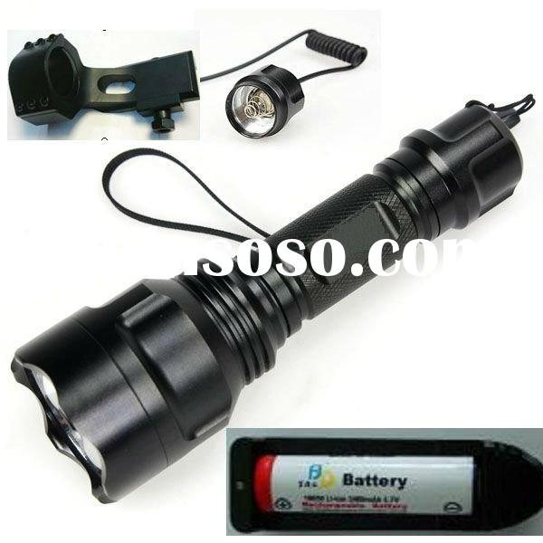 Tactical outdoor hunting  LED flashlight