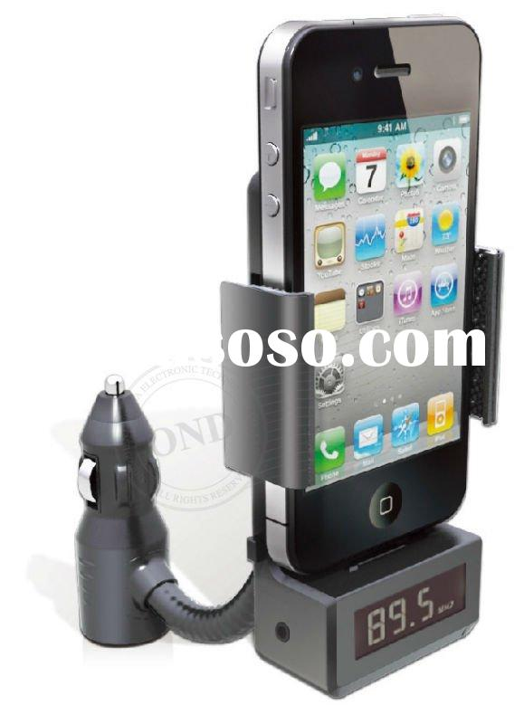 car fm transmitter fro iphone ipod with car charge
