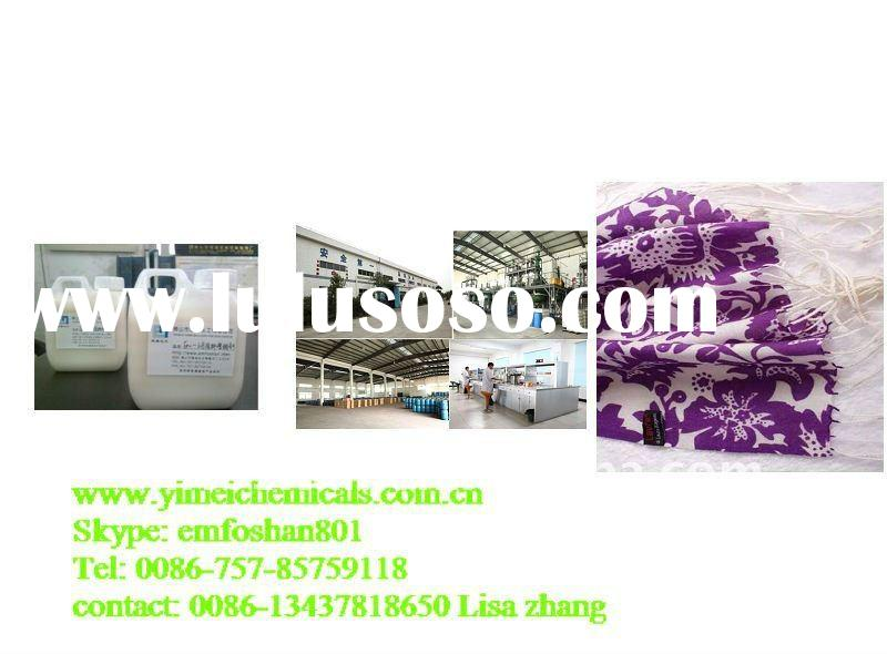 organic coating Adhesive for pigment printing mix soft emulsion,pigment paste(YIMEI 15 years)