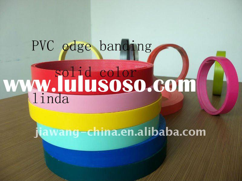 solid color pvc edge banding tape for table---JWE01